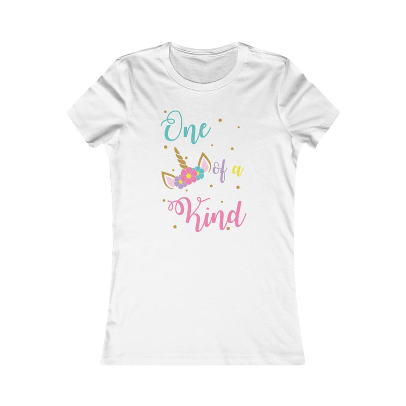 White One of a Kind Unicorn T-Shirt