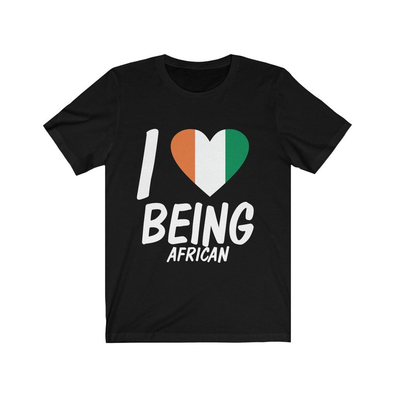 Black I love being African, Ivory Coast Shirt
