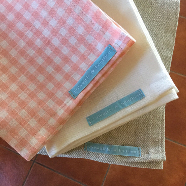 100% European Linen Kitchen Towel