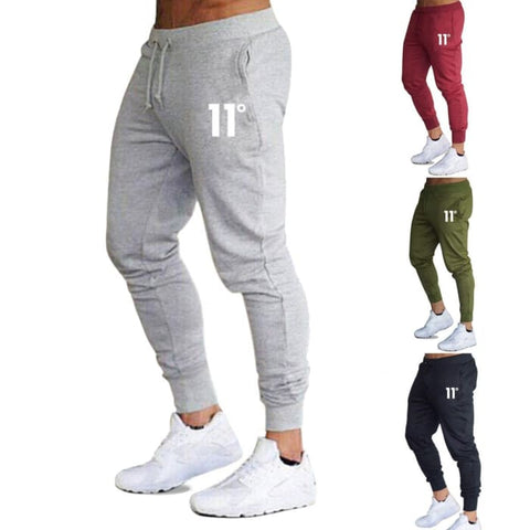 2019 Brand New Mens Casual Slim Fit Tracksuit Sports Gym Skinny Joggers Sweat Pants Trousers - World Amazing Fashion