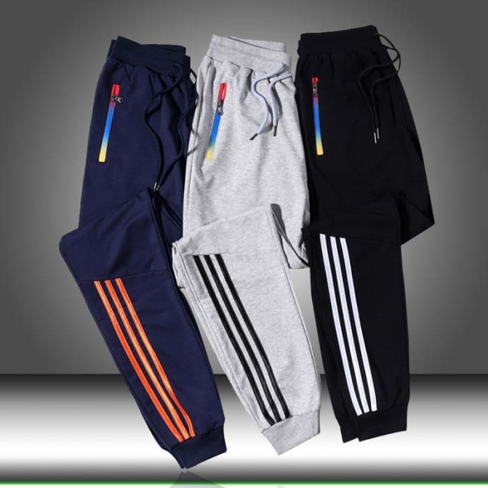 2020 New Pants Skinny Slim Straight Men Loose Joggers