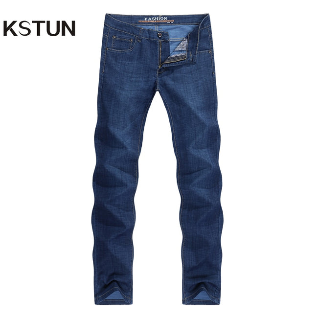 Dark Blue Jeans Classic Trousers High Quality | World Amazing Fashion | World Amazing Fashion