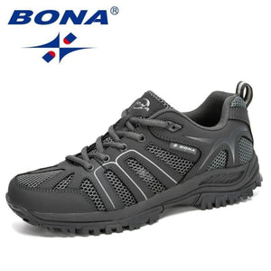 BONA 2020 New Designers Fashion Casual Shoes Men Outdoor