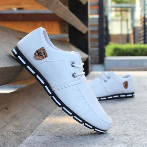 Brand New Fashion Men Loafers Leather Casual Shoes High