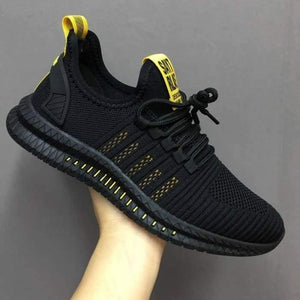Fashion Men Sneakers Mesh Casual Shoes Lac-up Mens