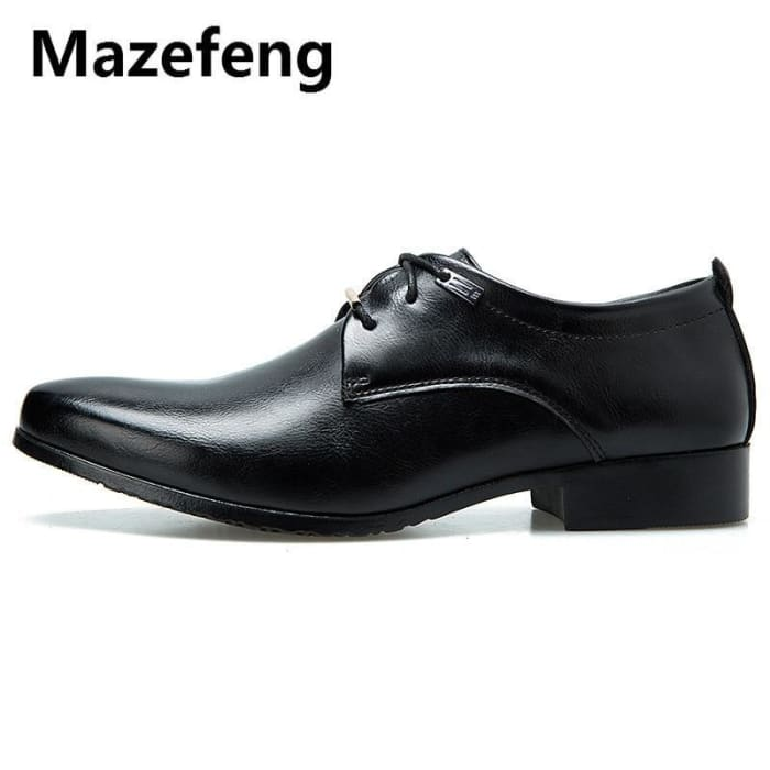 Mazefeng 2019 New High Quality British Style Leather Men