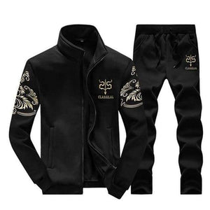 Men's Tracksuit Sportswear Sets Casual Men 2 Piece | World