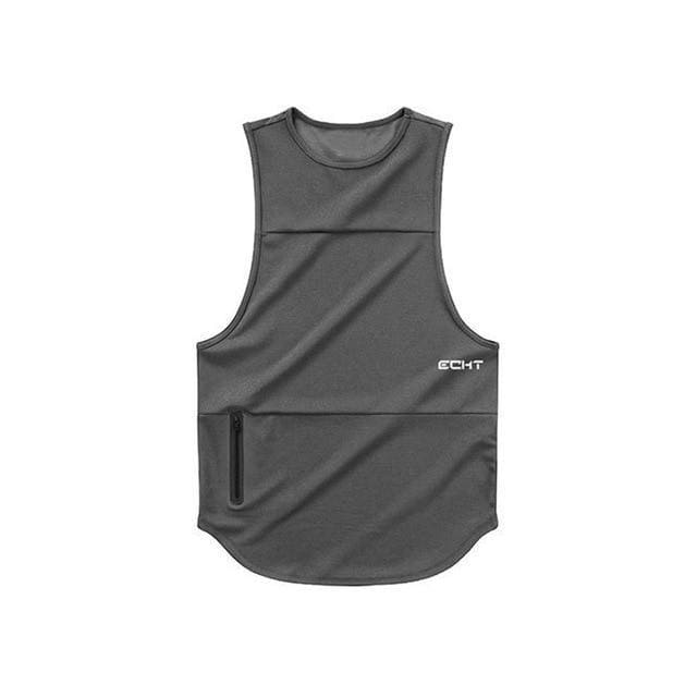 Muscle Men Sleeveless Sports Vest Summer Jogger Gym