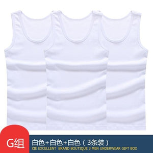 Our Hot Sale 3Pcs of Solid Muscle Tank Tops For Men | World