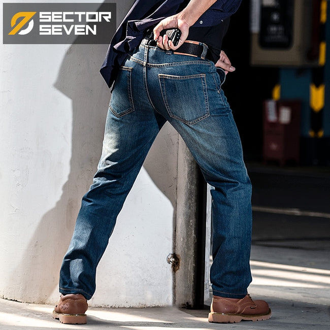 Tactical Combat Army Cargo Denim Jeans For Men | World Amazing Fashion | World Amazing Fashion