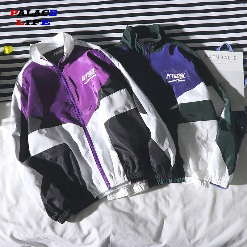 Windbreaker Hip Hop Jacket For Men Casual  | World Amazing Fashion