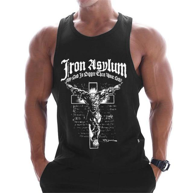 Bodybuilding Tank Top Sleeveless Gothic For Men | World Amazing Fashion - Men's & Women's Clothing | World Amazing Fashion