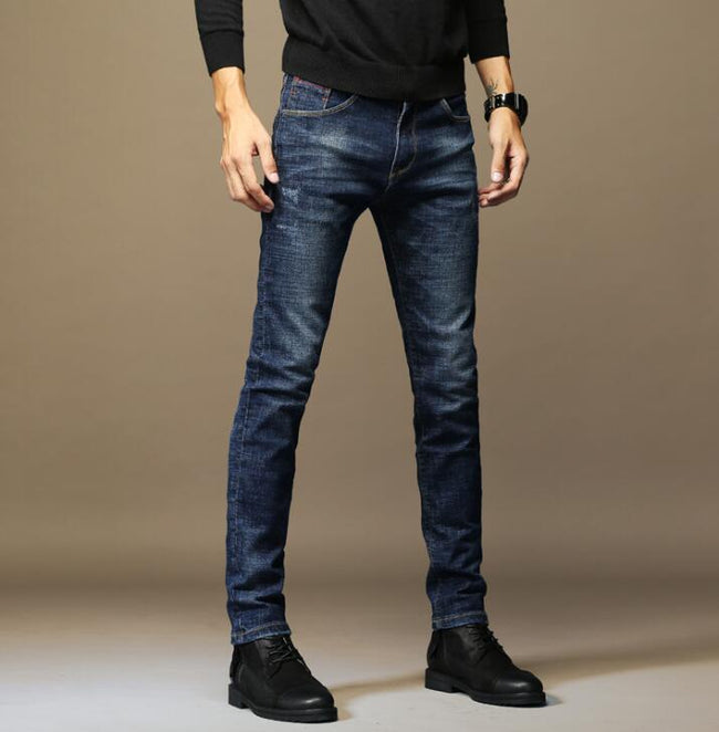 Classic Heavyweight Denim Jeans Casual  For Men | World Amazing Fashion | World Amazing Fashion