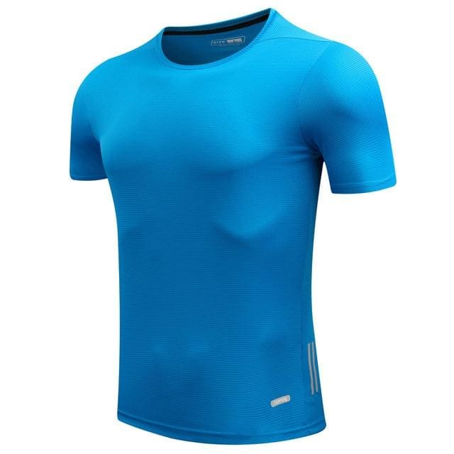 Shirt Homme Running Men Designer Quick Dry T Shirts Slim Fit