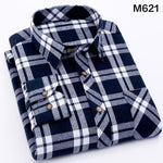 Shirts Mens Fashion 2020 Cotton Spring New S-4XL Plaid