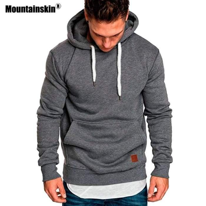Shop For Our Casual Slim Sportwear Hoodies Men | World