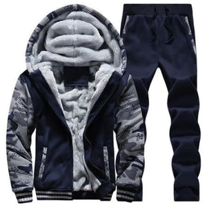 Shop Our Winter Inner Fleece Hoodies For Men 2-Piece