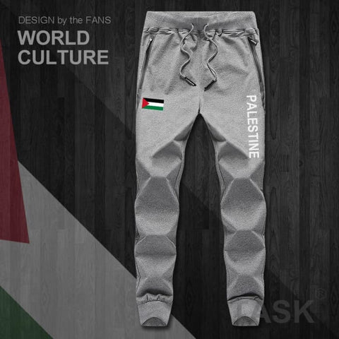 State of Palestine Palestinian PS PSE mens pants joggers jumpsuit sweatpants track sweat fitness fleece tactical casual nation - World Amazing Fashion