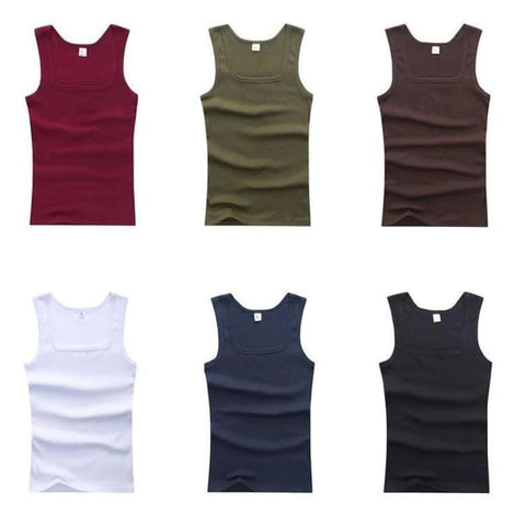 Summer Style Knitted Tank Tops For Men | World Amazing Fashion - World Amazing Fashion