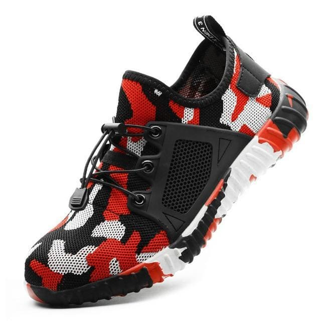 Work Sneakers Men Indestructible Shoes Steel Toe Safety Boot