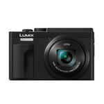 Lumix ZS80P Black DSC with 24-720 Leica Lens Free SD16C10