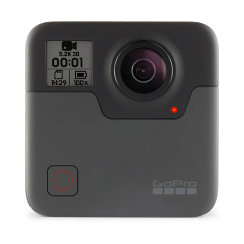 FUSION Waterproof 360 Camera Free 2x McSD32GB+LazyAction Action Camera