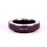 Lens Adapter Nikon AI to PTX K w/Glass