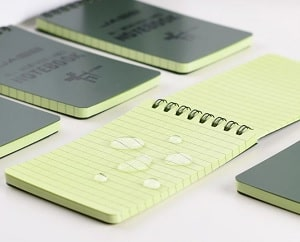 AllWeatherPad™- Portable Waterproof Notepad (3 Pc)