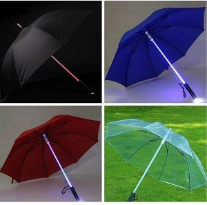 BrightUmbrella™- LED Lightsaber Umbrella
