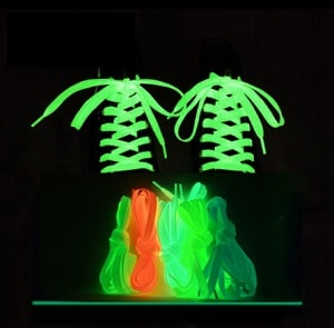 BrilliantLace™-  Flat Luminous Shoelaces