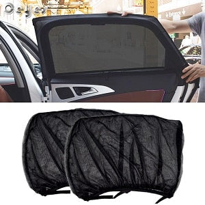 WindowProtect™- Car Front & Rear Side Window Shade Mesh Cover