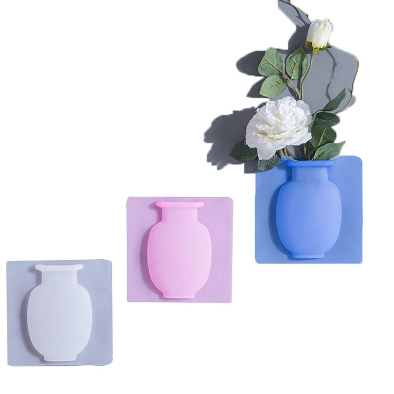 Sticky Flower Vases