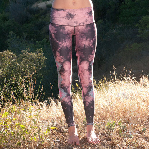 Teeki - Pink Eagle Feather Hot Pants - Front
