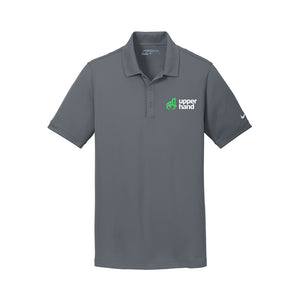 Nike Dri-FIT Solid Icon Pique Modern Fit Polo - Full Logo