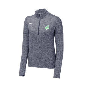 LIMITED EDITION Nike Ladies Dry Element 1/2-Zip Cover-Up - Sticker Left Chest