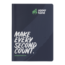 Load image into Gallery viewer, Soft Cover Notebook - Make Every Second Count
