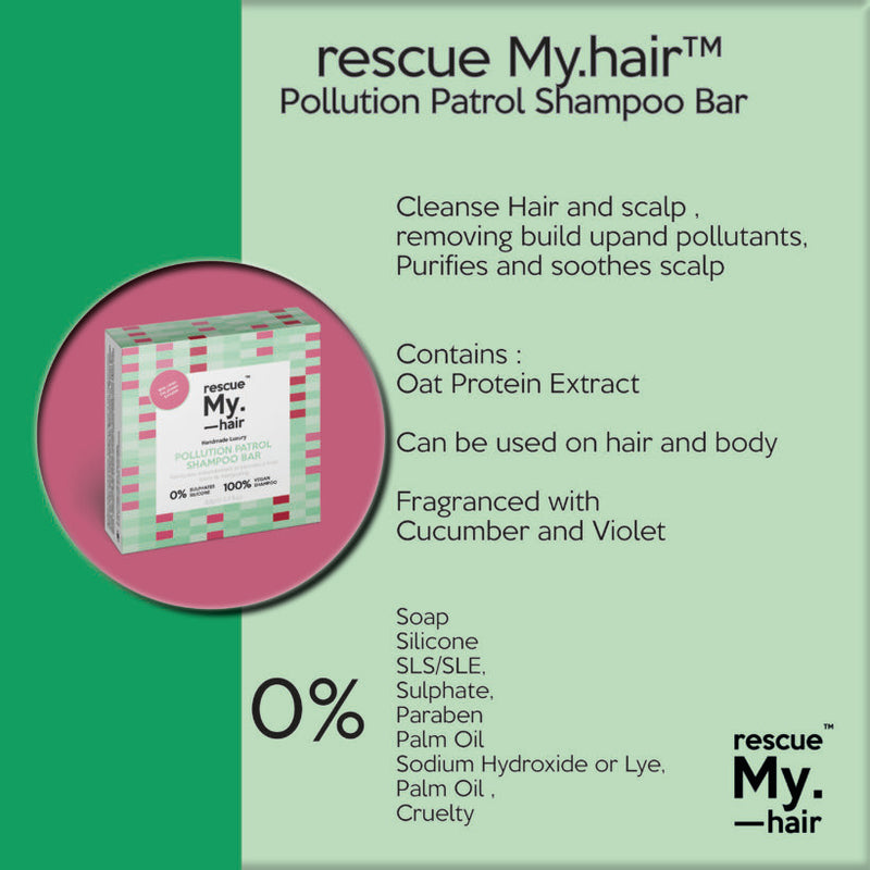 Rescue My.Hair™ POLLUTION PATROL Shampoo Bar