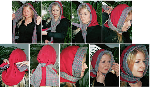 brunibrocat cabriotuch binden cabrio headscarf how to wear