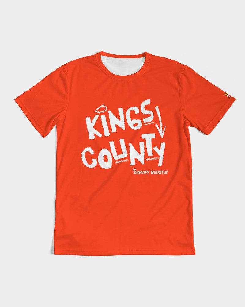 Kings County Graphic Tee (Red)