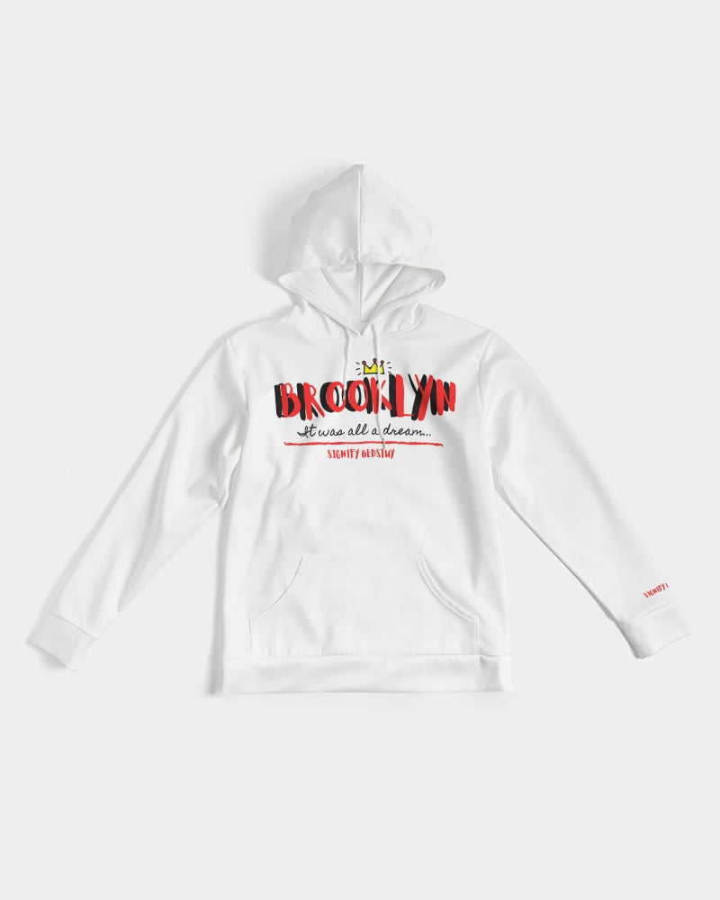 """It Was All A Dream"" Graphic Hoodie (White)"