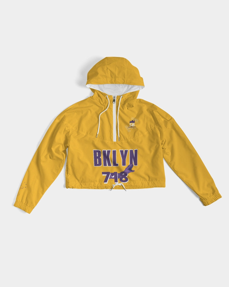 Bklyn 718 Women's Cropped Windbreaker