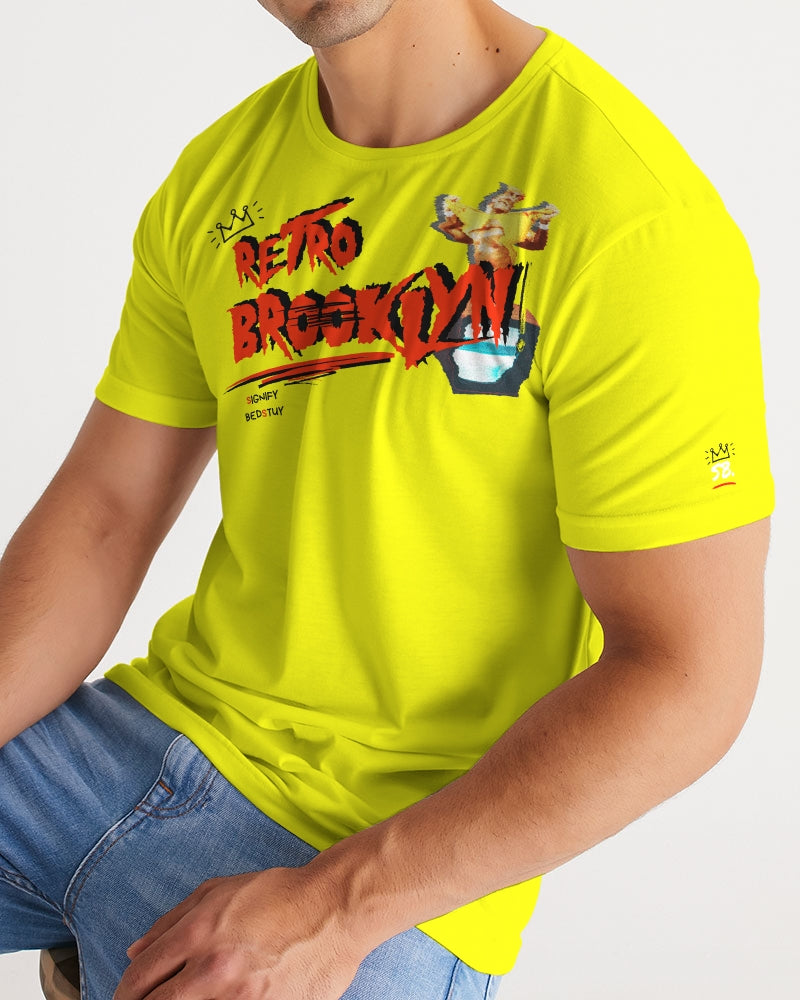Retro Brooklyn Graphic Tee (Yellow)