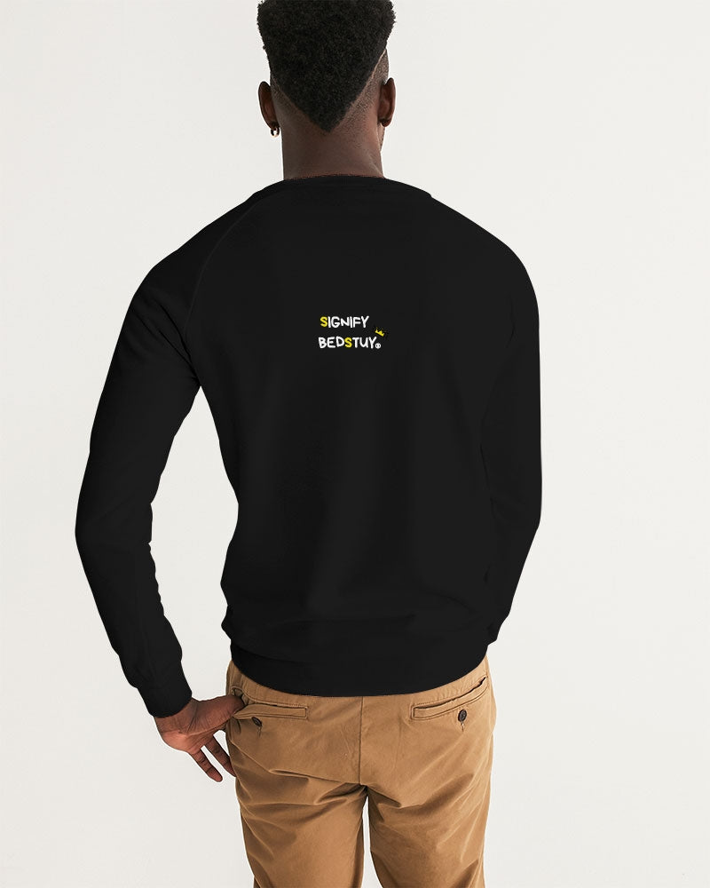 """Famous"" Graphic Graphic Sweatshirt (Black Slim Fit)"