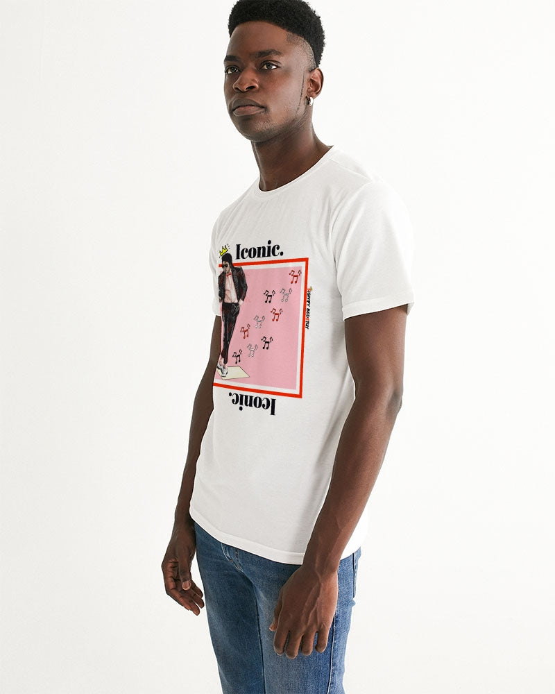 """MJ"" Inspired Iconic Graphic Tee (White)"