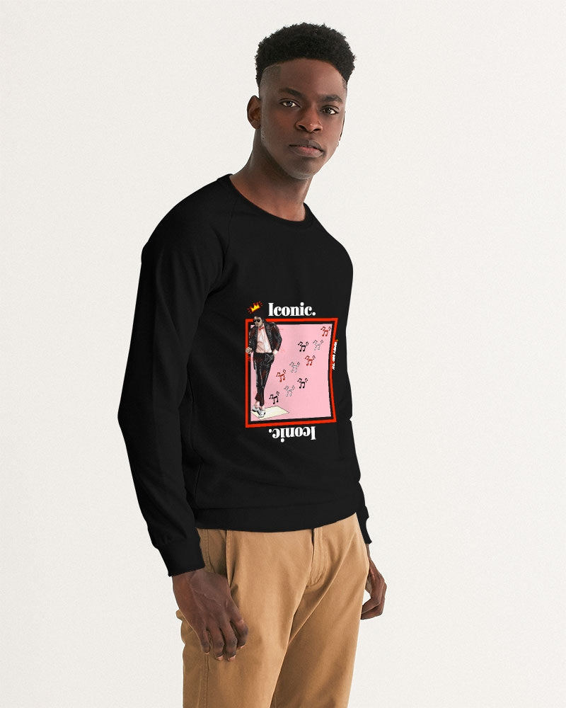 """MJ"" Inspired Iconic Graphic Sweatshirt (Black Slim Fit)"