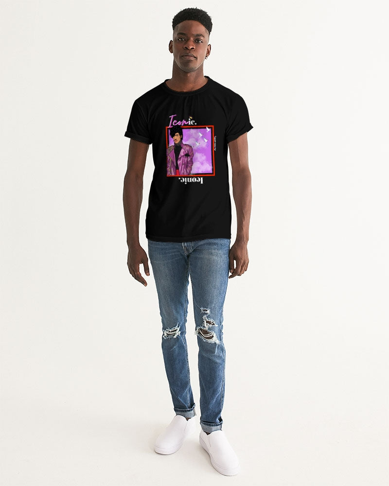 "New ""Purple One"" Iconic Graphic Tee (Black) Men's Graphic Tee"