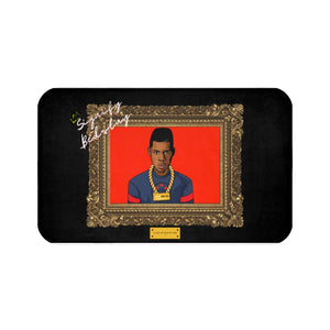 "Open image in slideshow, ""Jay"" Portrait Sneaker Rug"