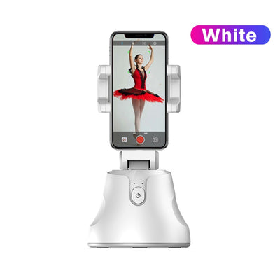 360 Rotation Apai Genie Camera Gimbal Selfie Stick Face & Object Tracking Stand Support for IPhone Photo Vlog Live Video Record