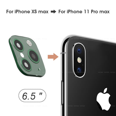 【Buy 1 Get 1 Free Cover Case】for IPhone XS Max Seconds Change for IPhone 11 Pro Max (Green)