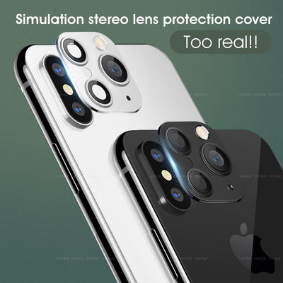 【Buy 1 Get 1 Free Cover Case】for IPhone X XS Seconds Change for IPhone 11 Pro (Black)